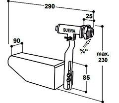 Схема подключения клапана Suevia Maxiflow 700
